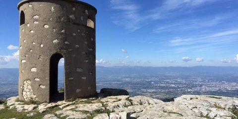 Le Grand Piton et la Tour Bastian (Salève)